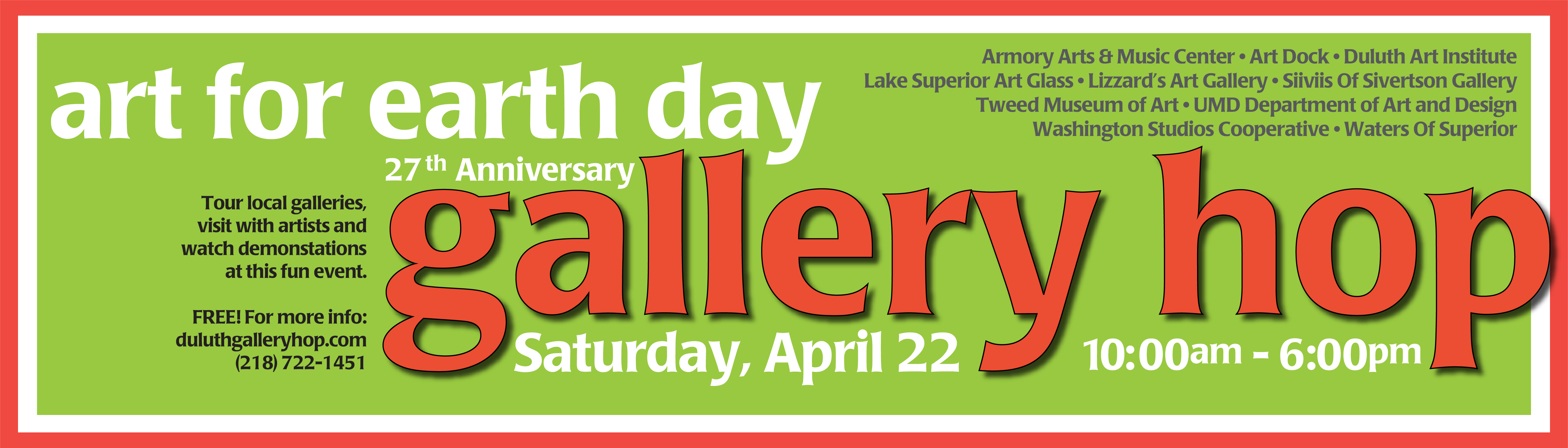 Duluth Gallery Hop